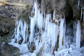 Casa Rural El refugio de Sol Anento Zaragoza Aragón Agua-llueve helado