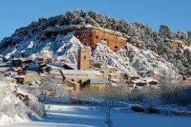 Casa Rural El refugio de Sol Anento Zaragoza Aragón Nevada