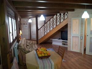 Casa rural en Anento Zaragoza Salon-cocina Planta Baja
