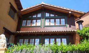 Casa rural en Anento Zaragoza Fachada Principal